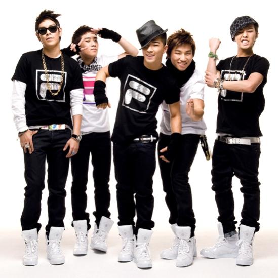 Hottie boys of Big Bang